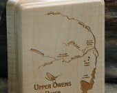 UPPER OWENS River Map Fly...