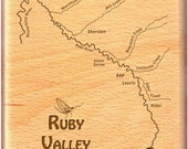 RUBY RIVER MAP Fly Fishin...