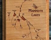 MAMMOTH LAKE River Map Wa...