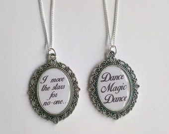 I move the Stars for No-one and Dance Magic Dance Necklaces