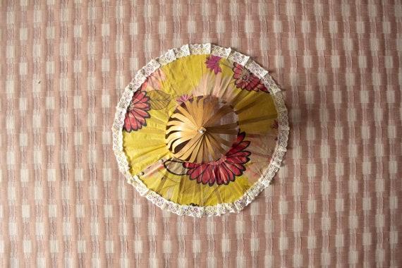 Vintage | Korean War-Era Sun Hat | 1950s Foldable