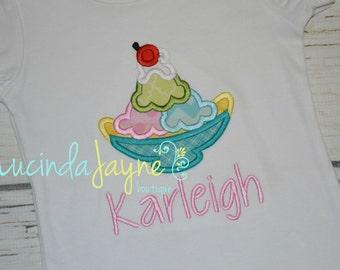 Banana Split/Ice Cream Sundae Shirt