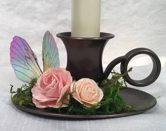 Butterfly Fairy Candlestick Lamp