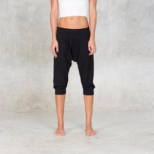 Drop pants ~ Yoga pants ~ Bamboo ~ Women pants ~ Lounge pants ~ Harem Pants ~ Bamboo clothing