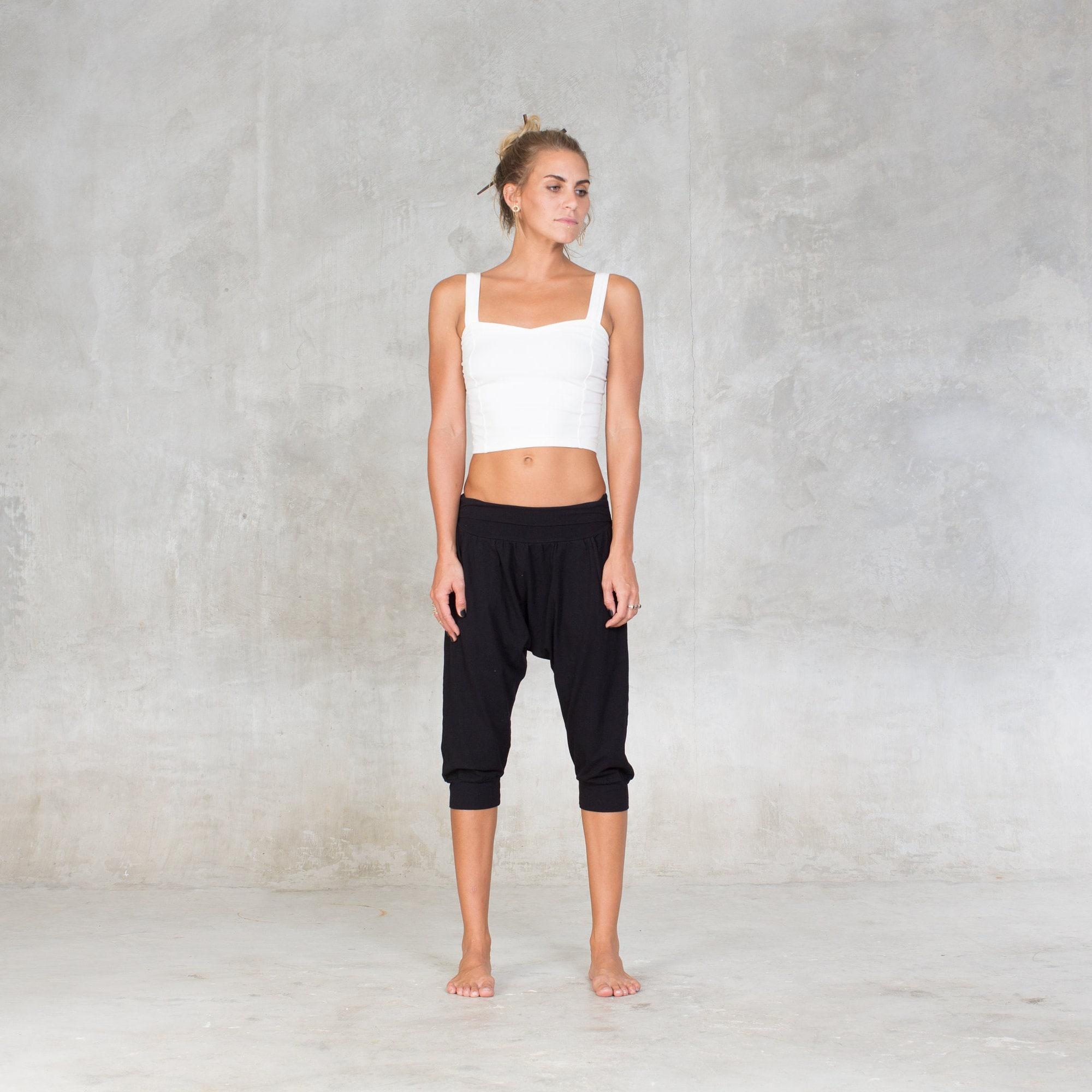 f19e3d0235 Drop pants Yoga pants Bamboo Women pants Lounge pants | Etsy