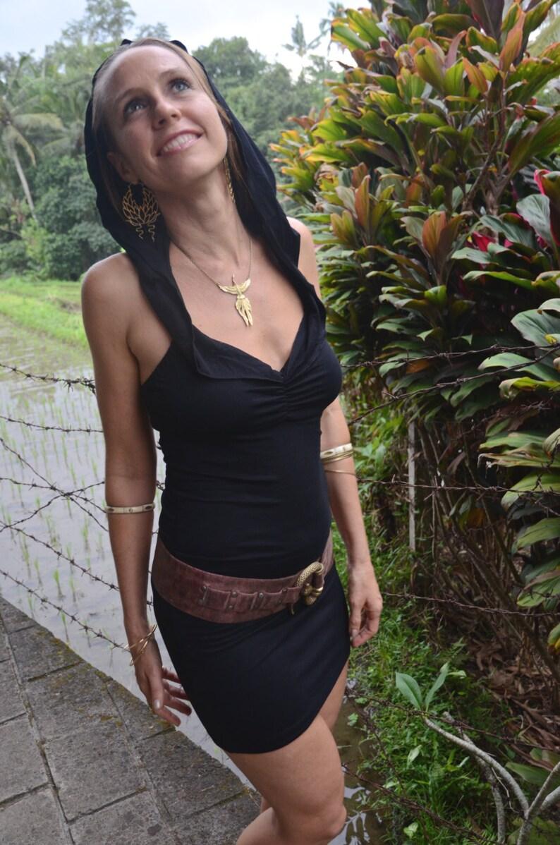 Hooded Dress ~ Women Dress ~ Women Tunic ~ Summer Dress