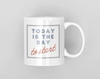 Mug for Entrepreneur   Motivational coffee cup   Entrepreneur Gift   Inspirational Gift
