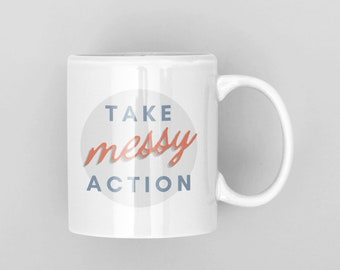 Entrepreneur Mug   Motivational coffee cup   Gift for Entrepreneur   Inspirational Gift