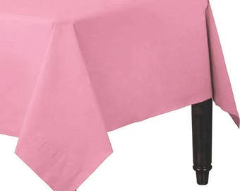 Table Cover, Baby Shower Baby Pink Table Cloth, Crafts, Picnics, Banquet  Buffet, Kids Table Party Supplies, Table Cloth, Baby Shower, Gender