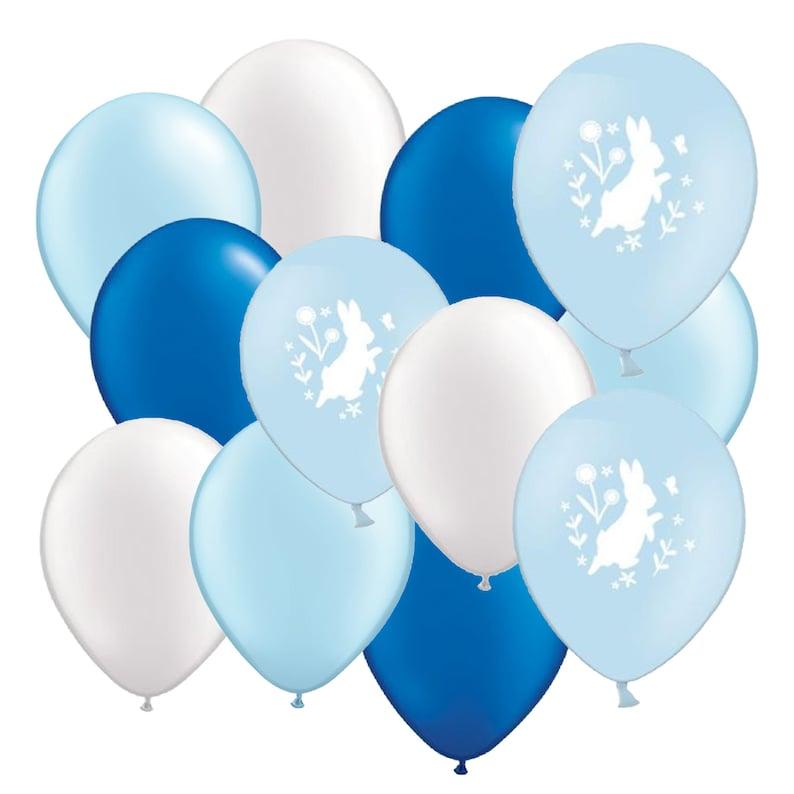 Bunny Rabbit Party Balloons Girls Birthday Party Birthday Neutral Baby Shower