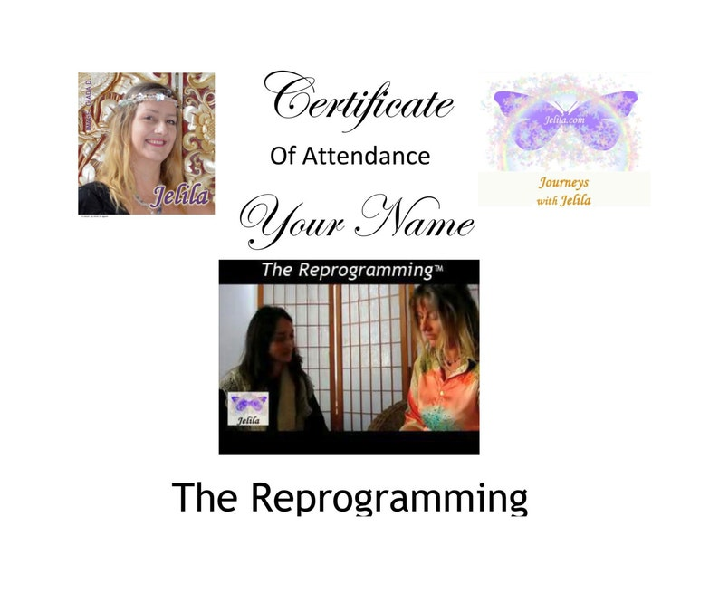 The Reprogramming 2 Hr Signature Session with List and CD   image 0