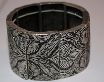 Vintage bracelet Pewter