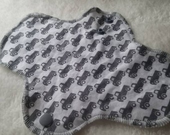 Vintage Trucks Cotton Pad Liner - Menstrual Pads - Reusable Cotton Pads -CSP - Cloth Sanitary Pads - Ready to Ship