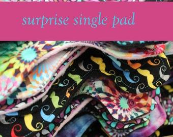 Surprise Print Cotton Pads - Custom Mama Cloth - Menstrual Pads - Reusable Cotton Pads - CSP - Cloth Sanitary Pads - Made to Order