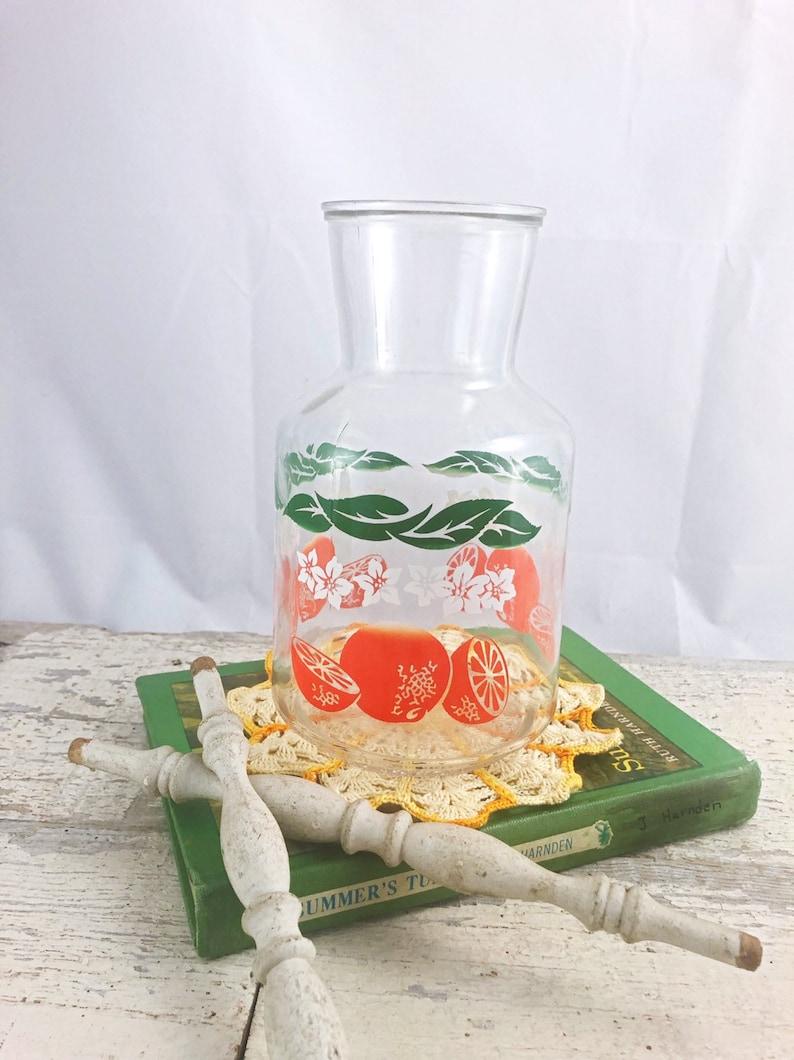 Gorgeous Vintage Juice Carafe