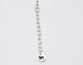 Personalized Charm Initial Add On