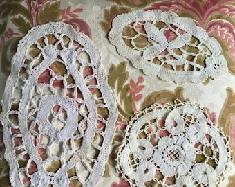 Centrino di pizzo bruges etsy