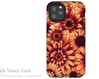 Fire Floret - Sunflower Case for iPhone 13 Mini / iPhone 13 /  iPhone 13 Pro  / iPhone 13 Pro Max / Dual Layer Tough Case
