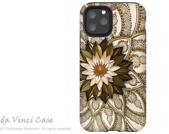 Levani Lotus - Lotus Flower Case for iPhone 13 Mini / iPhone 13 /  iPhone 13 Pro  / iPhone 13 Pro Max / Dual Layer Tough Case