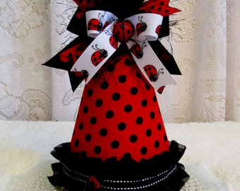 Ladybug Birthday Party Hat