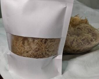 Raw Seamoss, Irish moss, Sea Moss