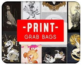 DISCOUNT PRINTS and Grab Bags