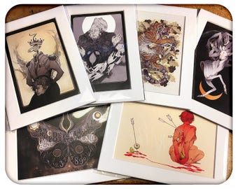 Matted Mini Prints