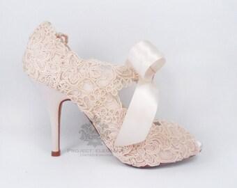cf83c723226 Blush Pink wedding shoes
