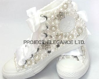Wedding converse 9ea67d21c