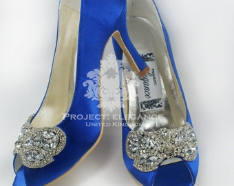 f812addbf978 Blue Wedding Shoes