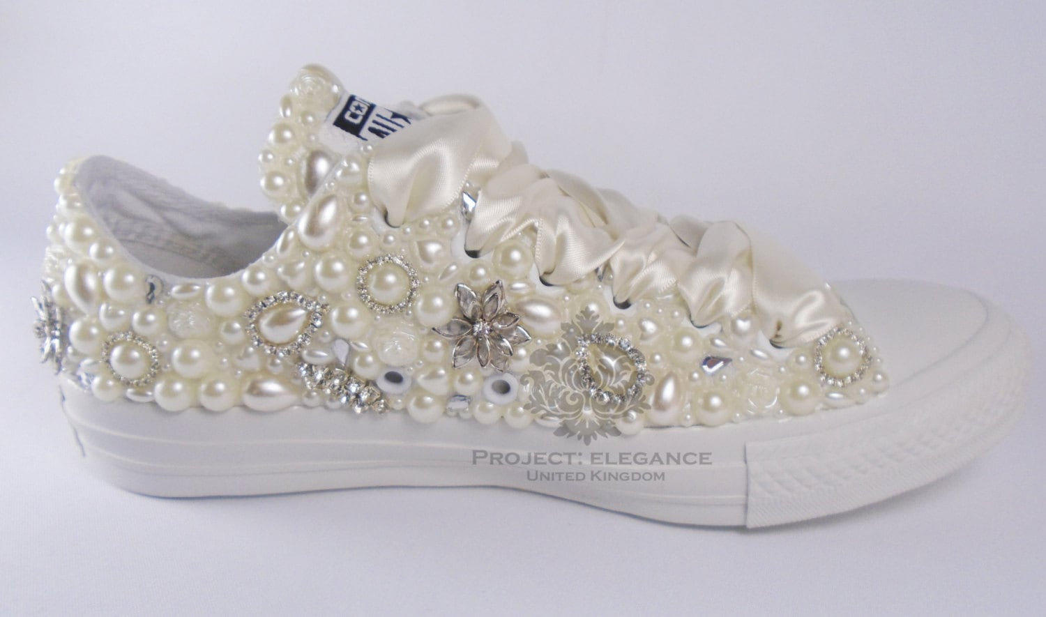 Custom Date Lace Bridal Converses Ivory Lace Wine Converse Wedding Tennis shoes Wedding Converse