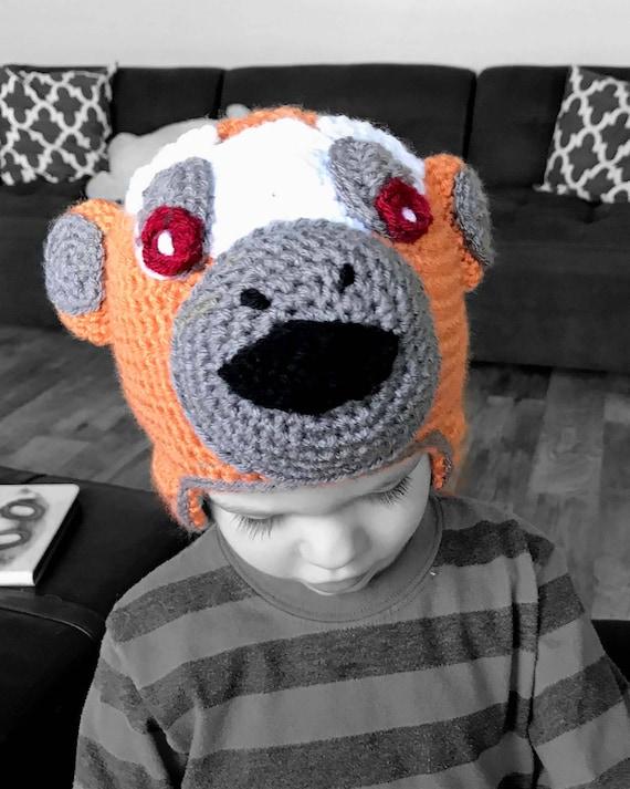 Handgefertigte Baby Monkey Hut Häkelmütze Affe Affe Mütze | Etsy
