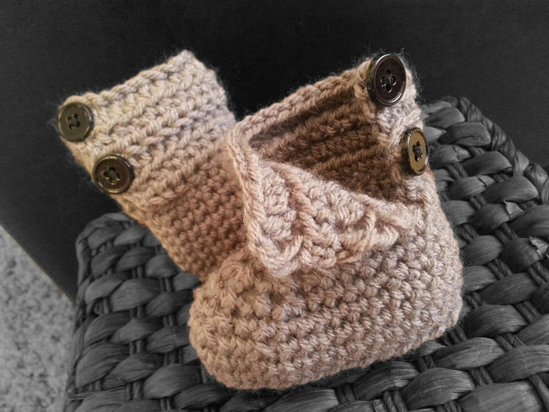 baby shower gift baby boy gray baby boots baby shoes Baby hat crochet brim hat infant booties