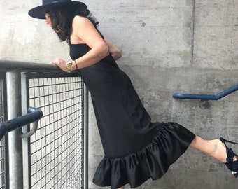 Georgina silk dress