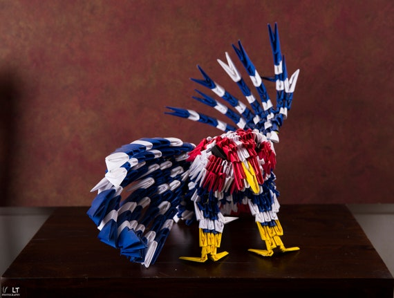 OnOy Origami - Paper craft 3d origami american eagle/ bald ... | 431x570