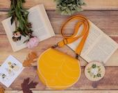 PRE ORDER Yellow Leaf Small Shoulder Bag