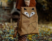 Fox Cork Leather Backpack, LARGE Pre Order
