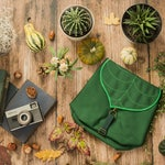 Personalized Leaf Waterproof Mini Backpack
