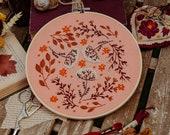 Yarrow Embroidery Pattern - PDF , Wild Flowers Embroidery Pattern