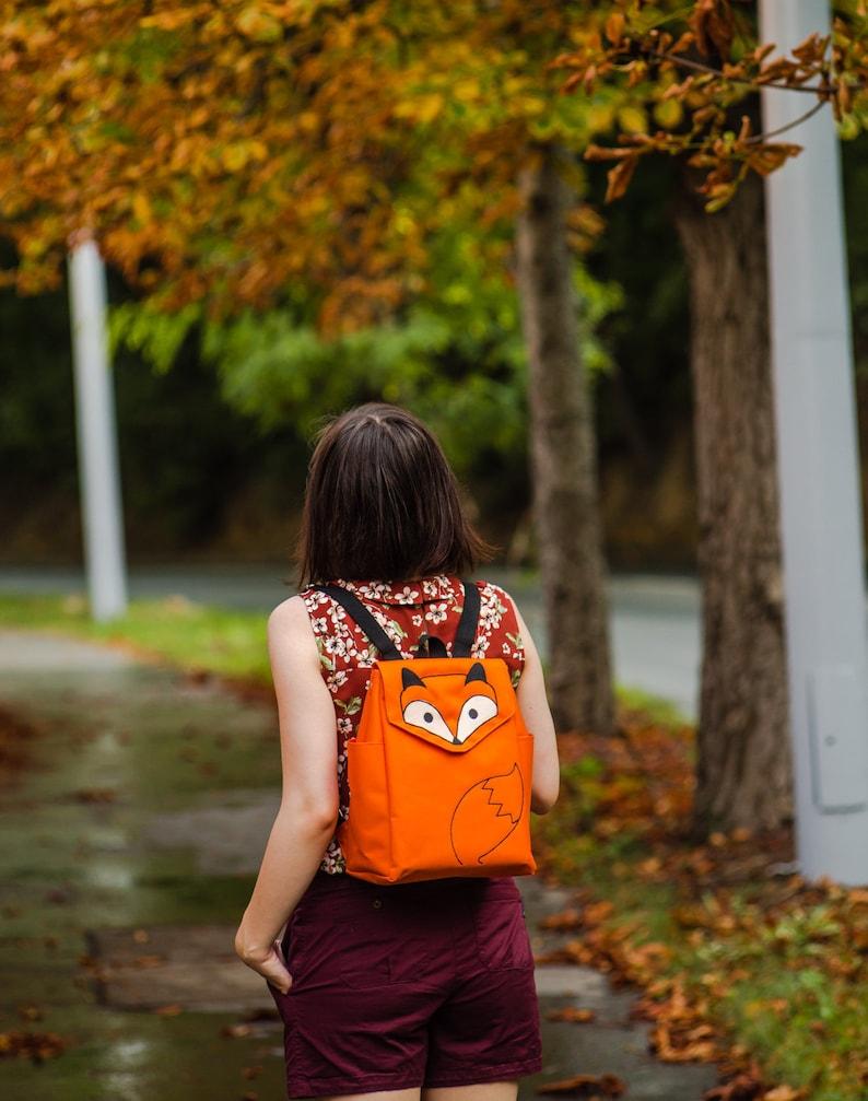 Orange Fox Backpack PRE ORDER image 0