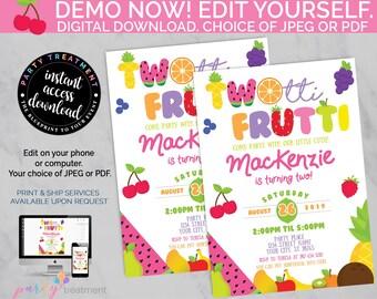 Twotti Frutti Party