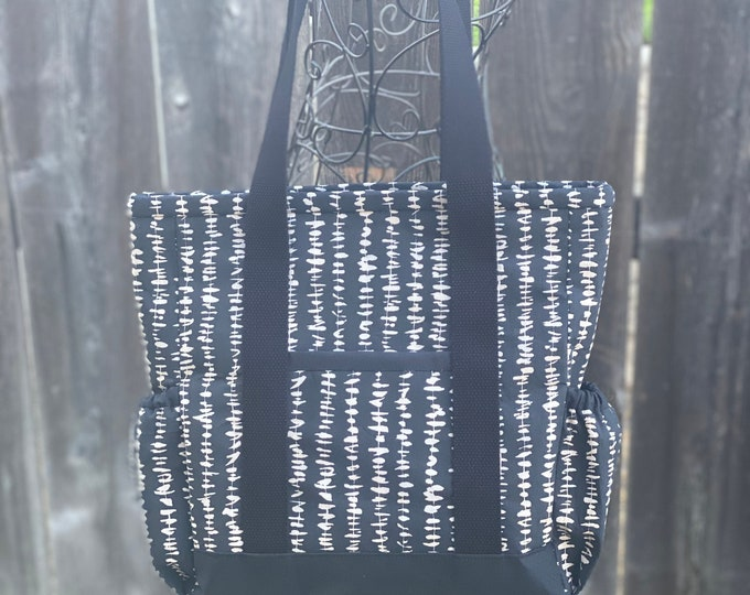Small Kitchen Sink Tote Bag with zipper and pockets