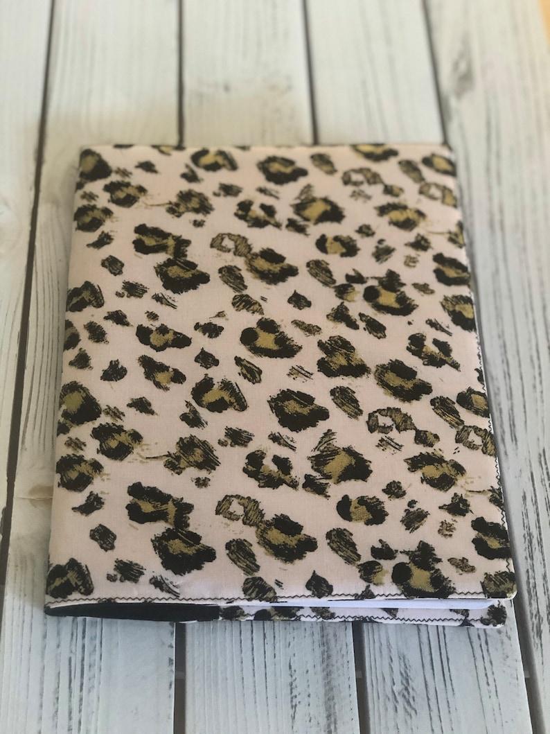 Journal Notebook cover Travel journal Pink Leopard Journal image 0