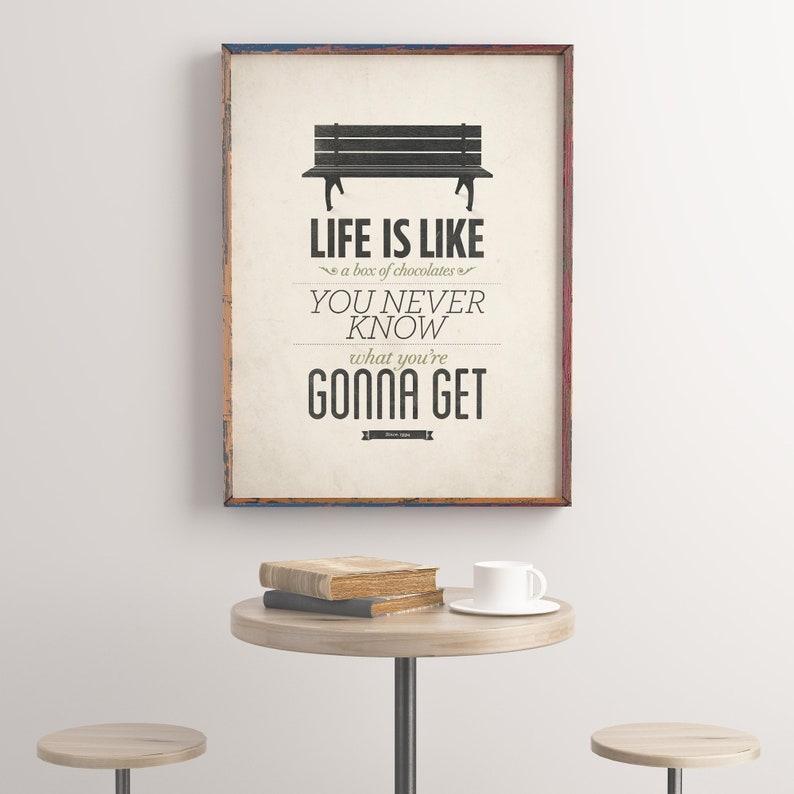 Das Leben ist wie eine Schachtel Pralinen Forrest Gump