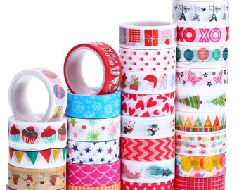 Bulk Washi Tape Watermelon Tape Printed Tape Paper Crafts DIY 15mm Washi Tape Decorative Tape Gift Wrapping Scrapbooking 5 Meters