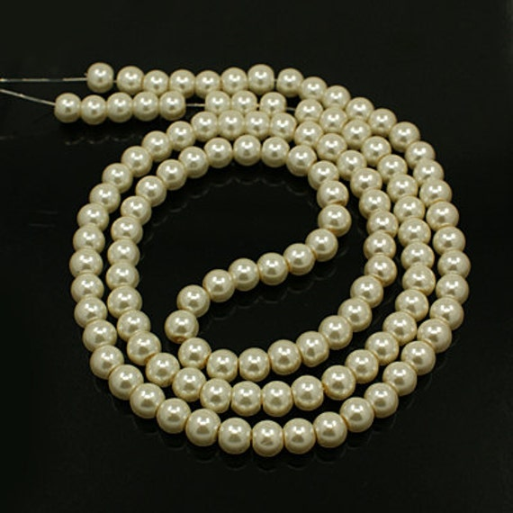 110 obsidian beads pearls