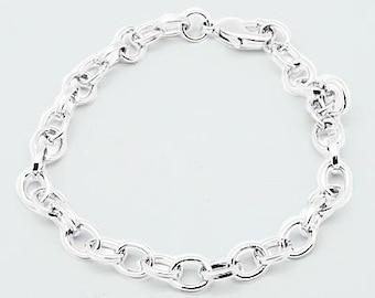 Charm Bracelets Chain Bracelets Link Bracelets Silver Link Chains Wholesale Bracelets Wholesale Chain-200pcs PREORDER
