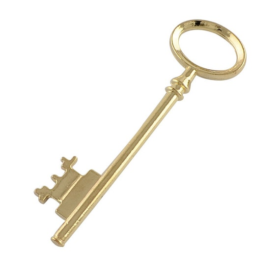 Bulk Skeleton Keys Crown Keys Key Charms Key Pendants Steampunk Keys Antiqued Bronze Keys Wholesale Keys 26mm 500pcs PREORDER