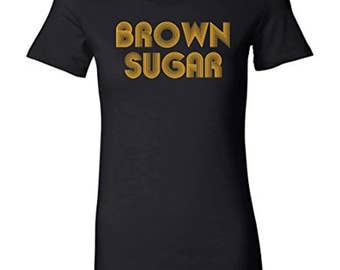 Ladies Fitted Tee | Brown Sugar T-shirt