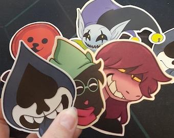 Deltarune Stickers